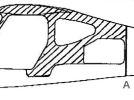 Spray Zolatone (or equv.) in shaded area prior to fuselage assembly.