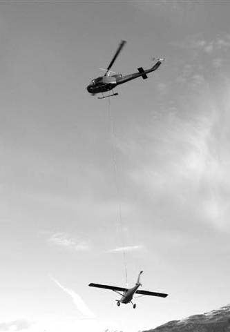 GlaStar helicopter recovery