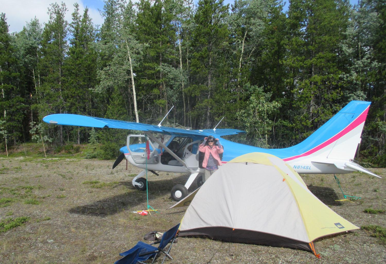 Camping at Watson Lake