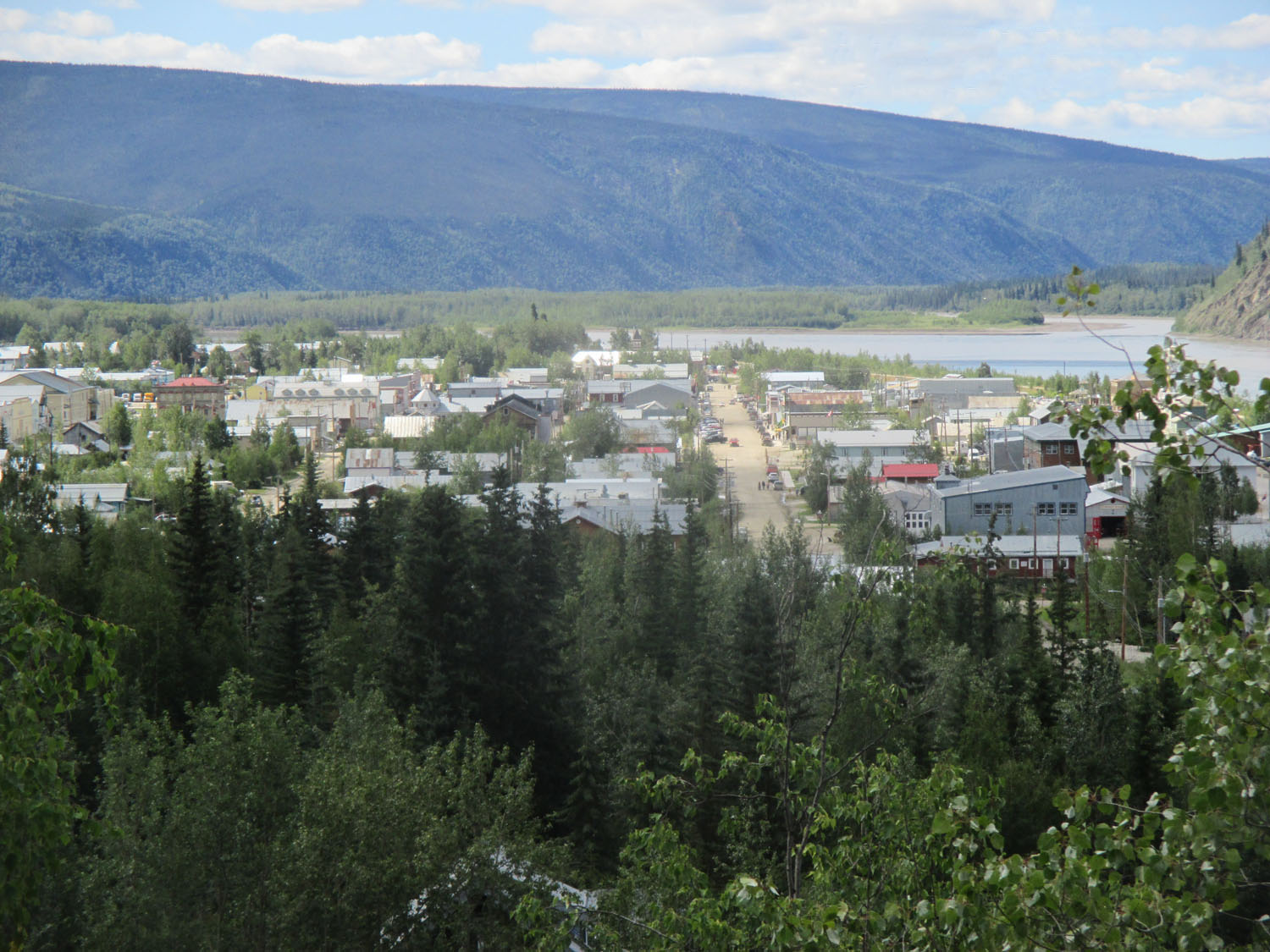 Dawson City—a must see gold rush town.
