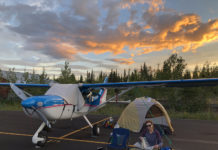 Pitch your tent anywhere at Tok, Alaska.