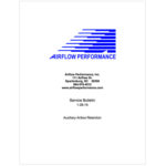 Airflow Performance Auxiliary Airbox Retention Service Bulletin 1-29-15