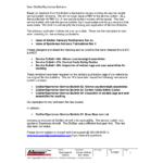 Service Bulletin Revisions--Builder Memo
