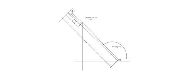GlaStar Gear Leg CAD Drawing