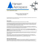 Hansen Aerospace Glasair Drag Link White paper