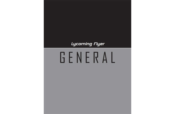 Lycoming Flyer - General