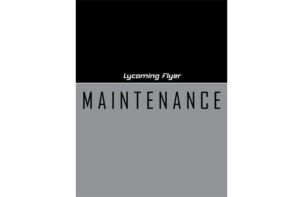 Lycoming Flyer - Maintenance
