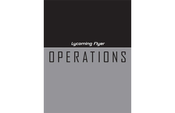 Lycoming Flyer - Operations