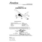 Symphony SA 160 Flight Manual (POH)