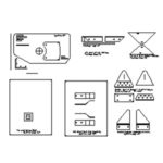 GlaStar Paper Templates CAD